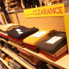 CLEARANCE SALE 開催中!
