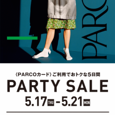 parco card party sale 事前お取置き実施中!!