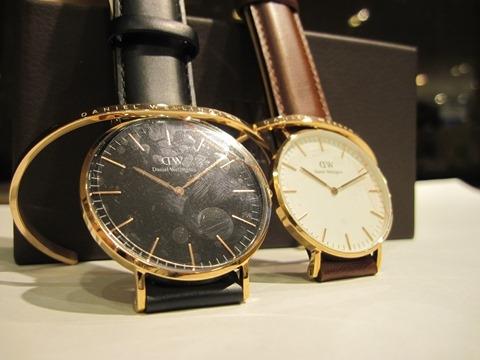 二人でつけよう~ダニエルウェリントンの時計とバングル~